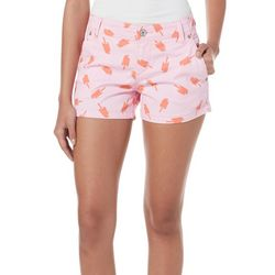 Unionbay Juniors Anika All Over Sweet Pops Print Shorts