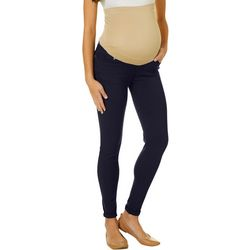 Times Two Womens Overbelly Maternity Jeggings