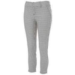 Shinestar Juniors Window Pane Print Pants