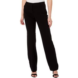 Juniors Solid Bootcut Leg Pants