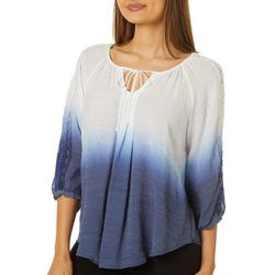 A. Byer Juniors Dip Dyed Top