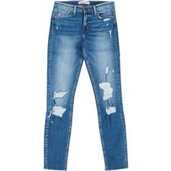 Flying Monkey Juniors Distressed Skinny Jeans