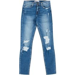 Juniors Distressed Skinny Jeans