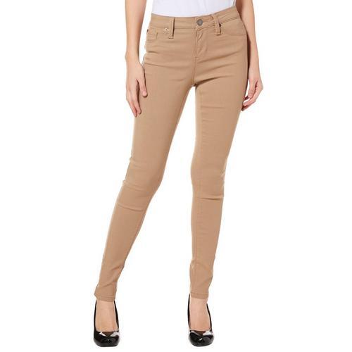 499521c655fae YMI Juniors Solid Hyperstretch Skinny Pants | Bealls Florida