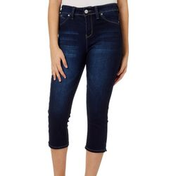 YMI Juniors Luxe Lift Skinny Stretch Denim Capris
