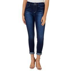 YMI Juniors Denim Mid Rise Skinny Jeans