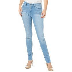 YMI Juniors Faded Denim Skinny Jeans