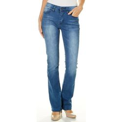 YMI Juniors Embroidered Back Pocket Boot Cut Jeans
