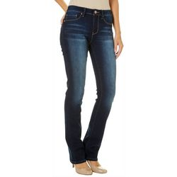 YMI Juniors Mid Rise Soft Stretch Basic Boot Cut Jeans