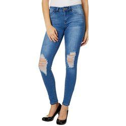 YMI Juniors WannaBettaButt Skinny Mid Rise Jeans