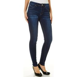 YMI Juniors WannaBettaButt Whiskered Denim Jeans