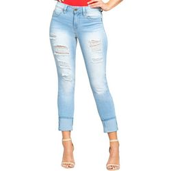 YMI Juniors WannaBettaButt Denim Mid Rise Skinny Jeans