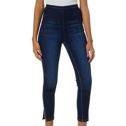 YMI Juniors No Muffin Top Split Hem Denim Jeans