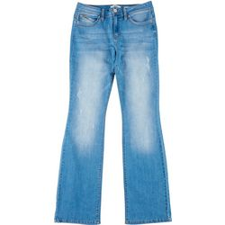 YMI Juniors WannaBettaButt Wide Leg Jeans