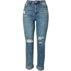 Dream Jeans by YMI Juniors Acid Wash Roll