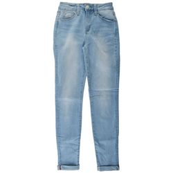 YMI Juniors No Muffin Top Denim Ankle Jeans