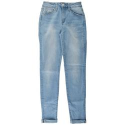Juniors No Muffin Top Denim Ankle Jeans