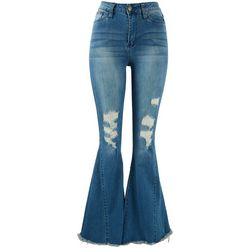 Royalty by YMI Juniors Fit and Flare Jeans