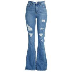 YMI Juniors High Rise Green Jeans