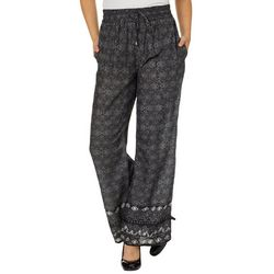 Eye Candy Juniors Mixed Geometric Palazzo Pants