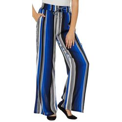 Eye Candy Juniors Striped Palazzo Pants