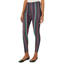 Eye Candy Juniors Vertical Stripe Leggings