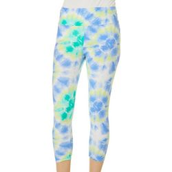 Eye Candy Juniors Tie Dye Capri Leggings