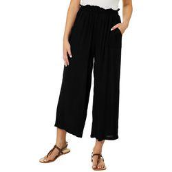 H.I.P. Juniors Solid Gaucho Pants