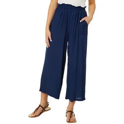 H.I.P. Juniors Solid Gaucho Pants