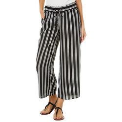 Jolt Juniors Striped Gaucho Pants