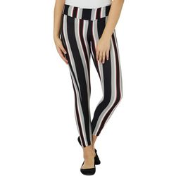 Hot Kiss Juniors Block Striped Leggings