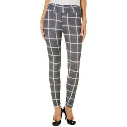 Hot Kiss Juniors Plaid Leggings