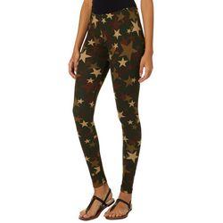 Hot Kiss Juniors Star Camouflage Print Leggings