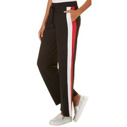 Hot Kiss Juniors Athletic Striped Pull On Pants