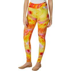 Hot Kiss Juniors Tie Dye Leggings