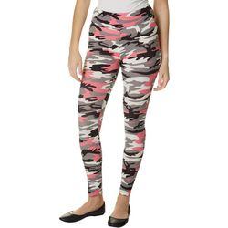 Hot Kiss Juniors Pink Camo Print Leggings