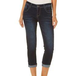 Harmony & Havoc Juniors Roll Cuff Crop Jeans