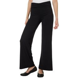 Hot Kiss Juniors Solid Palazzo Pants