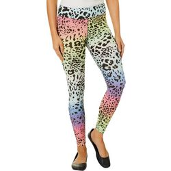 Hot Kiss Juniors Colorful Leopard Print Leggings