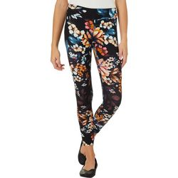 Hot Kiss Juniors Feminine Floral Print Leggings