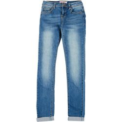 Hot Kiss Juniors Get The Lift Denim Roll Up Skinny Jeans