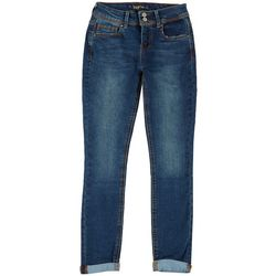 Indigo Rein Juniors Cuffed Skinny Jeans
