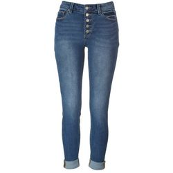 Indigo Rein Juniors Button-up Recycled Jeans