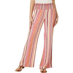 Indigo Rein Juniors Linen Striped Beach Pants