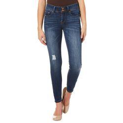 Indigo Rein Juniors Sustainable Distressed Denim Jeans