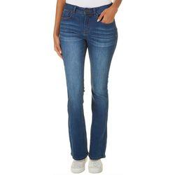 Indigo Rein Juniors Whiskered Boot Cut Jeans