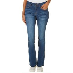Indigo Rein Juniors Whiskered Boot Cut Jeans