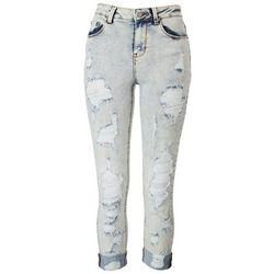 Indigo Rein Juniors Curvy Destroyed Jeans