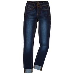 Juniors Body Support Dual Button Closure Jeans