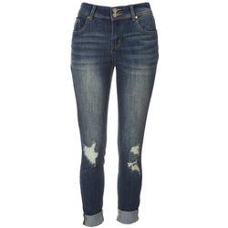 Indigo Rein Juniors Dual Button Waist Closure Jeans